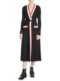 Maje - Rosiana Wrap Dress at Saks Fifth Avenue