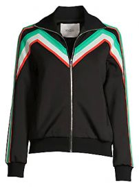 Maje - Stripe Jogging Jacket at Saks Fifth Avenue