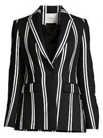 Maje - Striped Blazer at Saks Fifth Avenue