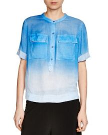 Maje Cocotte Ombr Shirt at Bloomingdales