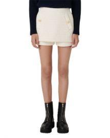 Maje Iandra Layered Tweed Skort Women - Bloomingdale s at Bloomingdales