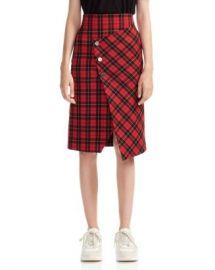 Maje Janty Plaid Skirt Women - Bloomingdale s at Bloomingdales