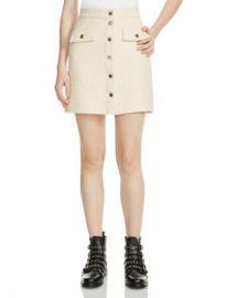 Maje Jiba Tweed Mini Skirt Women - Bloomingdale s at Bloomingdales