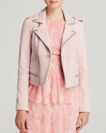 Maje Leather Jacket - Bloomingdaleand039s Exclusive at Bloomingdales