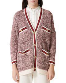 Maje Mapada Knit Button-Front Cardigan Women - Bloomingdale s at Bloomingdales