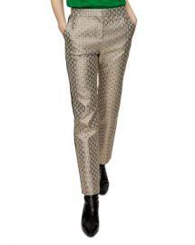 Maje Pane Floral Jacquard Pants Women - Bloomingdale s at Bloomingdales