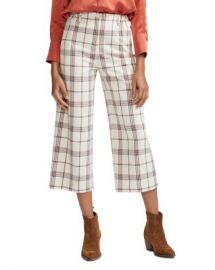 Maje Persio Cropped Plaid Pants Women - Bloomingdale s at Bloomingdales