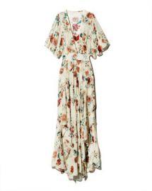 Maje Rachelle Asymmetric Floral-Print Maxi Dress Women - Bloomingdale s at Bloomingdales