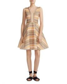 Maje Reinetta Printed Fit-and-Flare Dress Women - Bloomingdale s at Bloomingdales