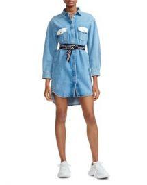 Maje Relmi Denim Shirt Dress Women - Bloomingdale s at Bloomingdales