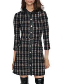 Maje Renaty Tweed Mini Dress Women - Bloomingdale s at Bloomingdales