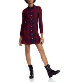 Maje Renitia Tweed Mini Shirt Dress Women - Bloomingdale s at Bloomingdales