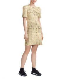 Maje Rill Tweed Shirt Dress Women - Bloomingdale s at Bloomingdales
