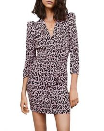 Maje Ripanta Leopard-Print Mini Dress Women - Bloomingdale s at Bloomingdales