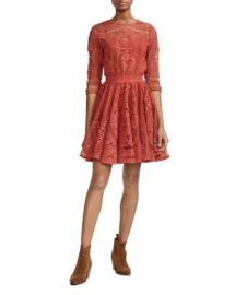 Maje Ripiza Lace Dress Women - Bloomingdale s at Bloomingdales