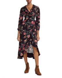 Maje Rosetina Wrap Dress Women - Bloomingdale s at Bloomingdales