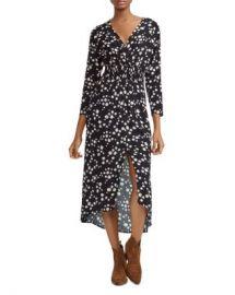 Maje Rosila Daisy Print Midi Dress Women - Bloomingdale s at Bloomingdales