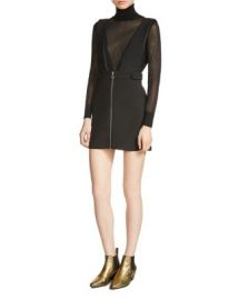 Maje Russell Pinafore Dress at Bloomingdales