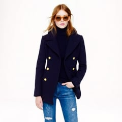 Majesty peacoat in navy at J. Crew