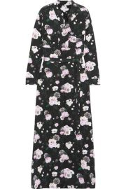 Major printed washed-silk maxi dress by Equipment at Net A Porter