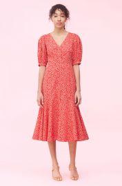 Malia Floral Poplin Dress by Rebecca Taylor at Rebecca Taylor