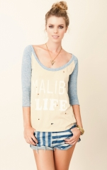 Malibu Life tee by Rebel Yell at Planet Blue