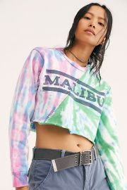 Malibu Tie Dye Pullover at Free People