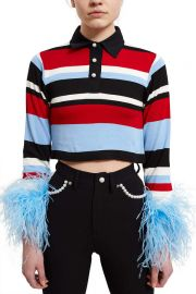 Mandrel Polo Top by Adam Selman at Opening Ceremony