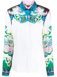 Manu-Print Stretch-Cotton Shirt by Emilio Pucci at Farfetch