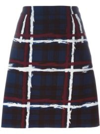 Marc By Marc Jacobs Checked A-line Skirt at Farfetch