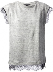 Marc By Marc Jacobs Lace Trim T-shirt - Cuccuini at Farfetch