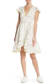 Marc Jacobs   Floral Embroidered Ruffle Dress   Nordstrom Rack at Nordstrom Rack