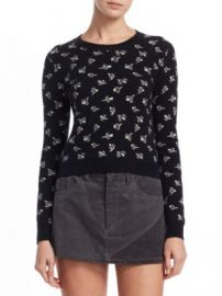 Marc Jacobs - Floral-Print Cashmere Pullover at Saks Fifth Avenue