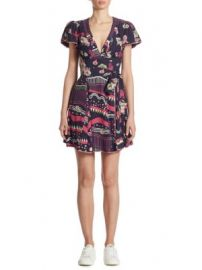 Marc Jacobs - Floral-Print Tie Dress at Saks Fifth Avenue