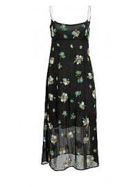 Marc Jacobs - Redux Grunge Floral Chiffon Silk Midi Slip Dress at Saks Fifth Avenue