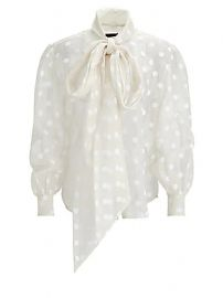 Marc Jacobs - Sheer Bow-Tie Blouse at Saks Fifth Avenue