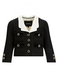 Marc Jacobs - Wool Crop Blazer at Saks Fifth Avenue