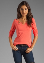 Marc Jacobs Armisen tee in coral at Revolve