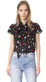 Marc Jacobs Button Flutter Sleeve Top at Shopbop