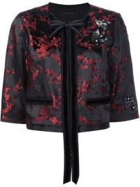 Marc Jacobs Cherry Blossom Cropped Jacket at Farfetch