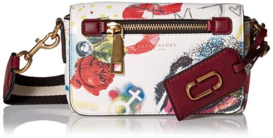 Marc Jacobs Collage Printed Leather Cross Body Bag at Amazon
