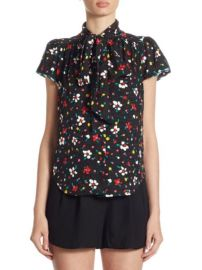Marc Jacobs Floral Blouse at Saks Off 5th