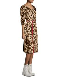 Marc Jacobs Leopard Dress at Saks Off 5th