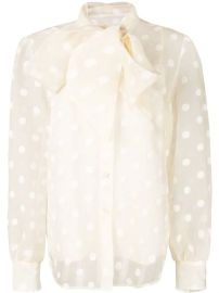 Marc Jacobs Polka Dot Printed Shirt - Farfetch at Farfetch