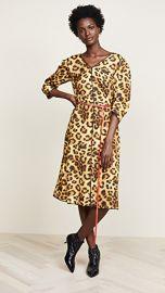 Marc Jacobs Printed V Neck Dress at Shopbop