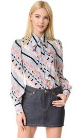 Marc Jacobs Puff Sleeve Button Down at Shopbop