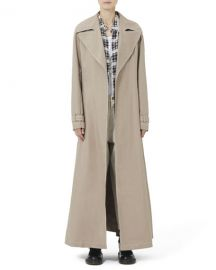 Marc Jacobs Redux Grunge Full-Length Belted Trench Coat at Neiman Marcus