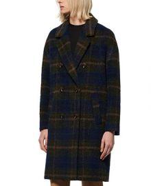 Marc New York Double-Breasted Plaid Coat   Reviews - Coats - Women - Macy s at Macys