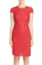Marc New York Lace Sheath Dress at Nordstrom