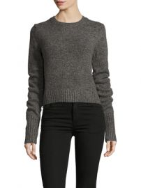 Marc by Marc Jacobs Back Lacing Molded Sweater at Saks Fifth Avenue